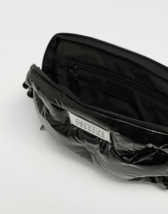 MAISON MARGIELA Glam Slam patent leather crossbody Bum bag [*** pickupInStoreShippingNotGuaranteed_info ***] a