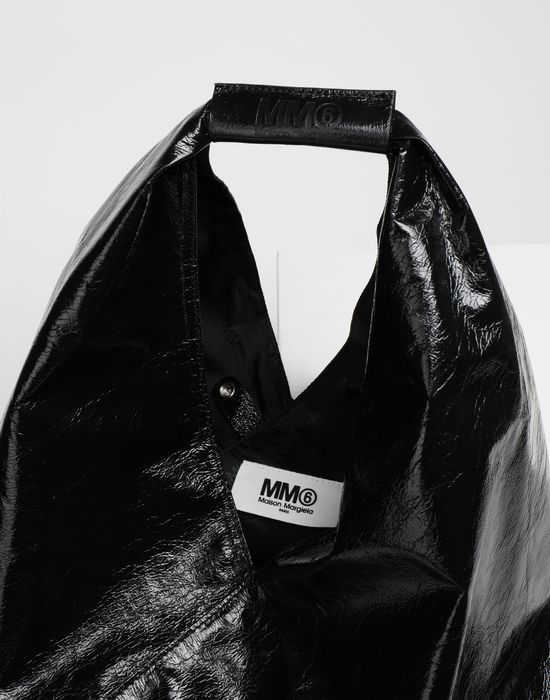 MM6 MAISON MARGIELA Japanese crinkled leather medium bag Tote [*** pickupInStoreShipping_info ***] d