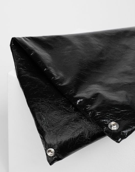 MM6 MAISON MARGIELA Japanese crinkled leather medium bag Tote [*** pickupInStoreShipping_info ***] e