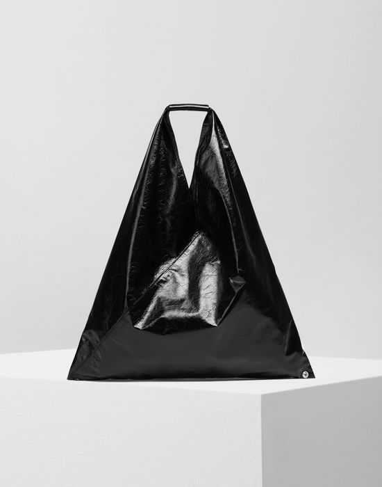 MM6 MAISON MARGIELA Japanese crinkled leather medium bag Tote [*** pickupInStoreShipping_info ***] f
