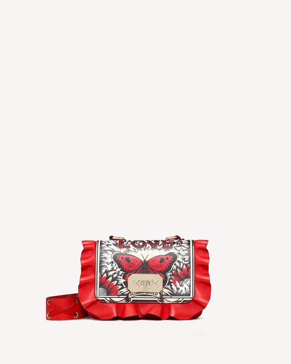 REDValentino CROSSBODY BAG ROCK RUFFLES
