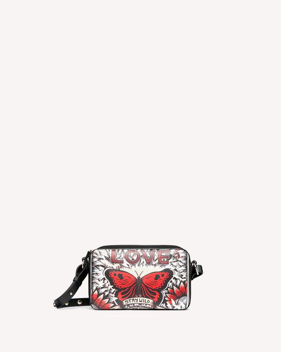 REDValentino CROSSBODY BAG METAL DOT