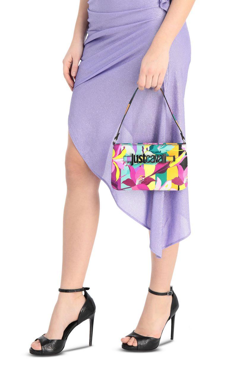 JUST CAVALLI Floral-print mini handbag Crossbody Bag Woman d