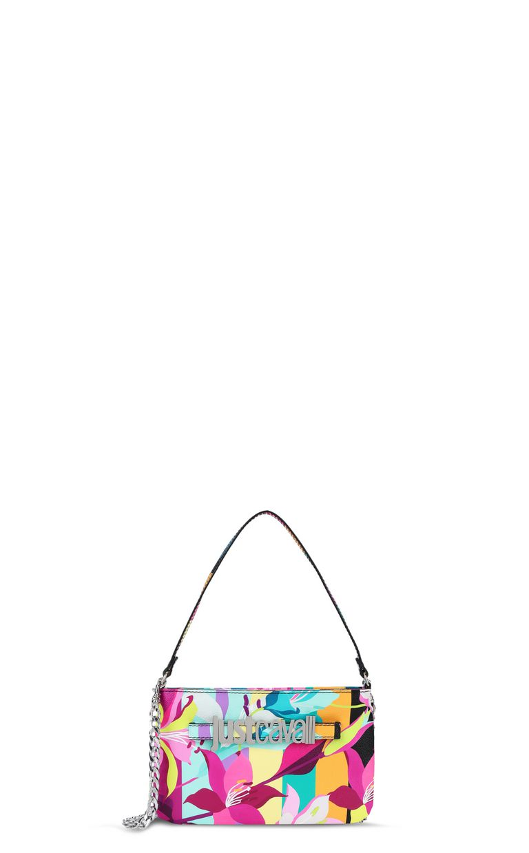 JUST CAVALLI Floral-print mini handbag Crossbody Bag Woman f