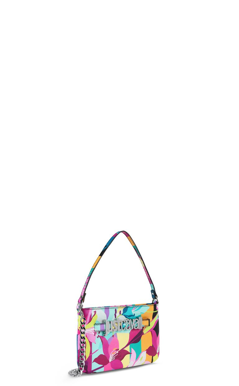 JUST CAVALLI Floral-print mini handbag Crossbody Bag Woman r