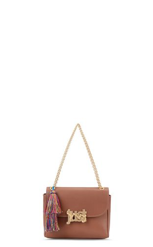 Shoulder bag with tassel