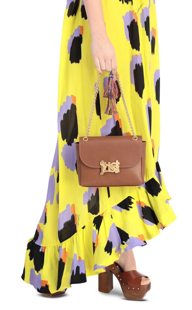 JUST CAVALLI Shoulder bag with tassel Crossbody Bag Woman d