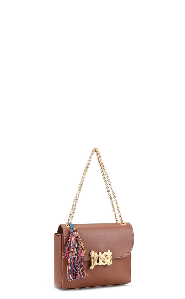 JUST CAVALLI Shoulder bag with tassel Crossbody Bag Woman r