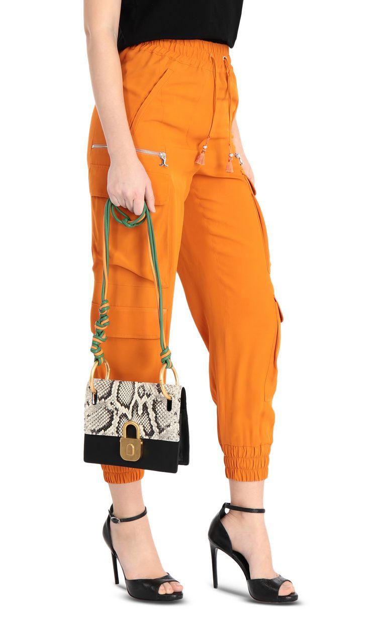 JUST CAVALLI Python-print shoulder bag Crossbody Bag [*** pickupInStoreShipping_info ***] d