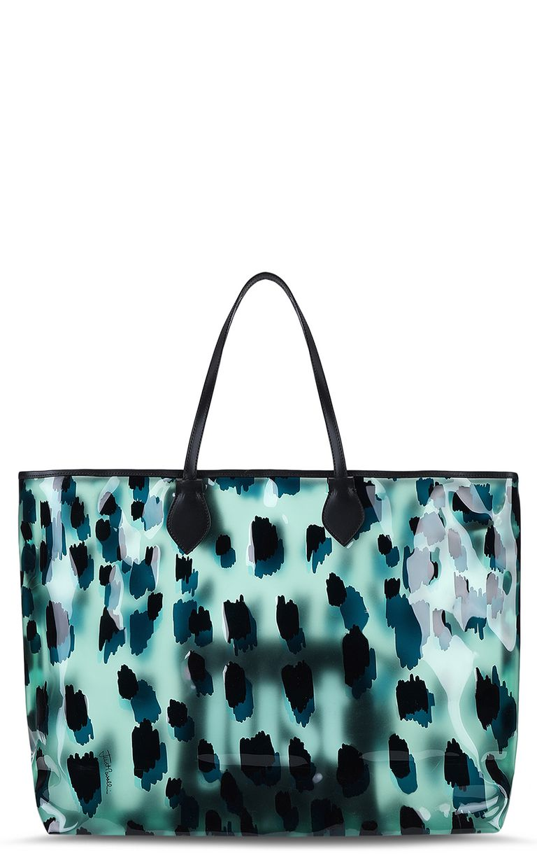 JUST CAVALLI Maxi shopper Tote Woman e