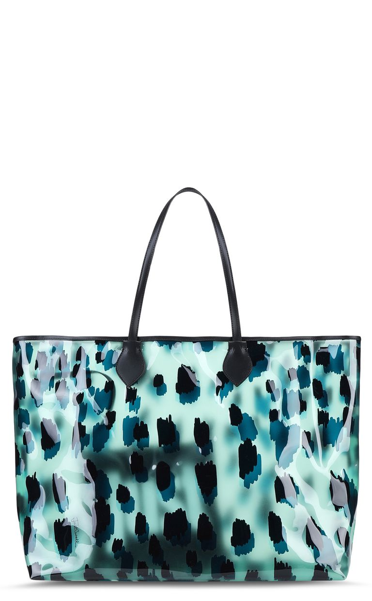 JUST CAVALLI Maxi shopper Tote Woman f