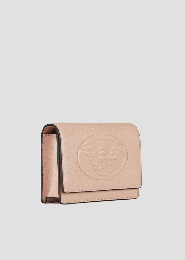 62bfe69cb5ce ... Mini cross-body bag with Emporio Armani maxi logo. EMPORIO ARMANI