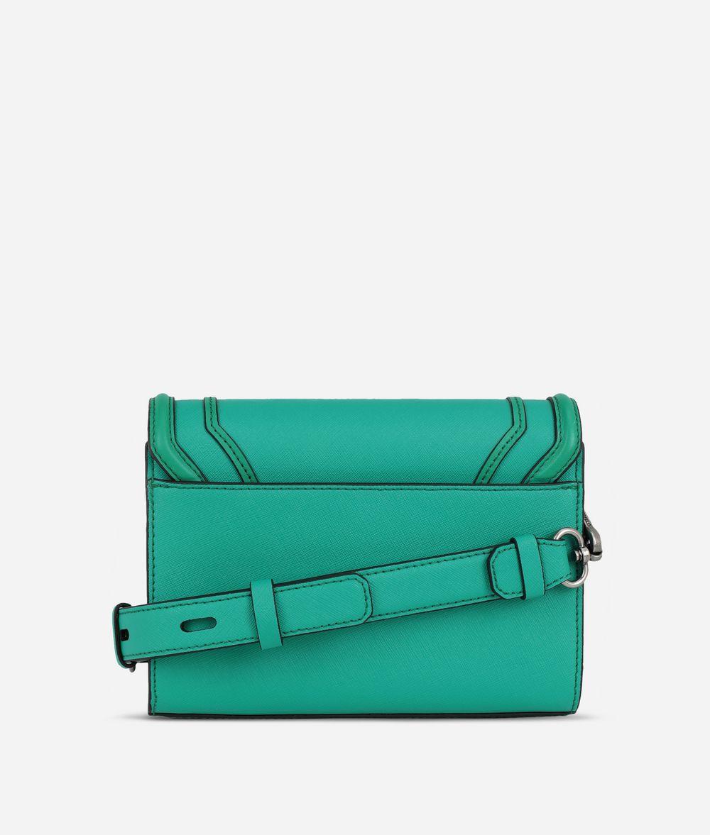 KARL LAGERFELD K/Rocky Saffiano Small Shoulder Bag Handbag Woman d