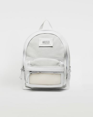 MAISON MARGIELA Rucksack [*** pickupInStoreShippingNotGuaranteed_info ***] Décortiqué leather-PVC backpack f