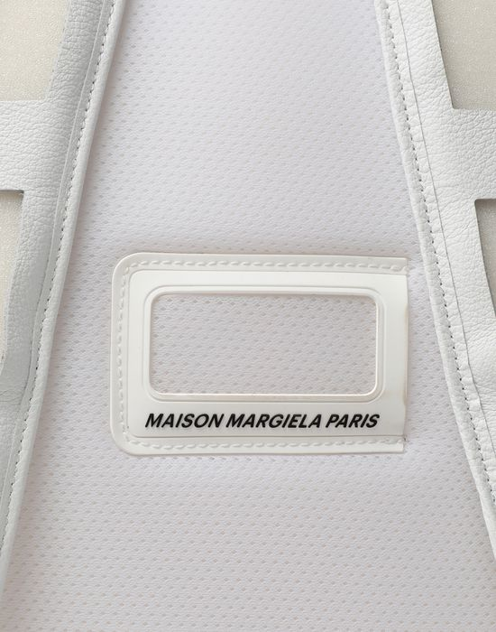 MAISON MARGIELA Décortiqué leather-PVC backpack Backpack [*** pickupInStoreShippingNotGuaranteed_info ***] e