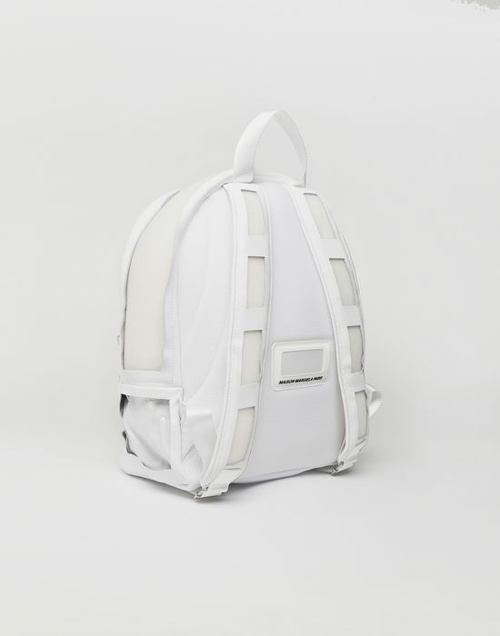MAISON MARGIELA Décortiqué leather-PVC backpack Backpack [*** pickupInStoreShippingNotGuaranteed_info ***] r