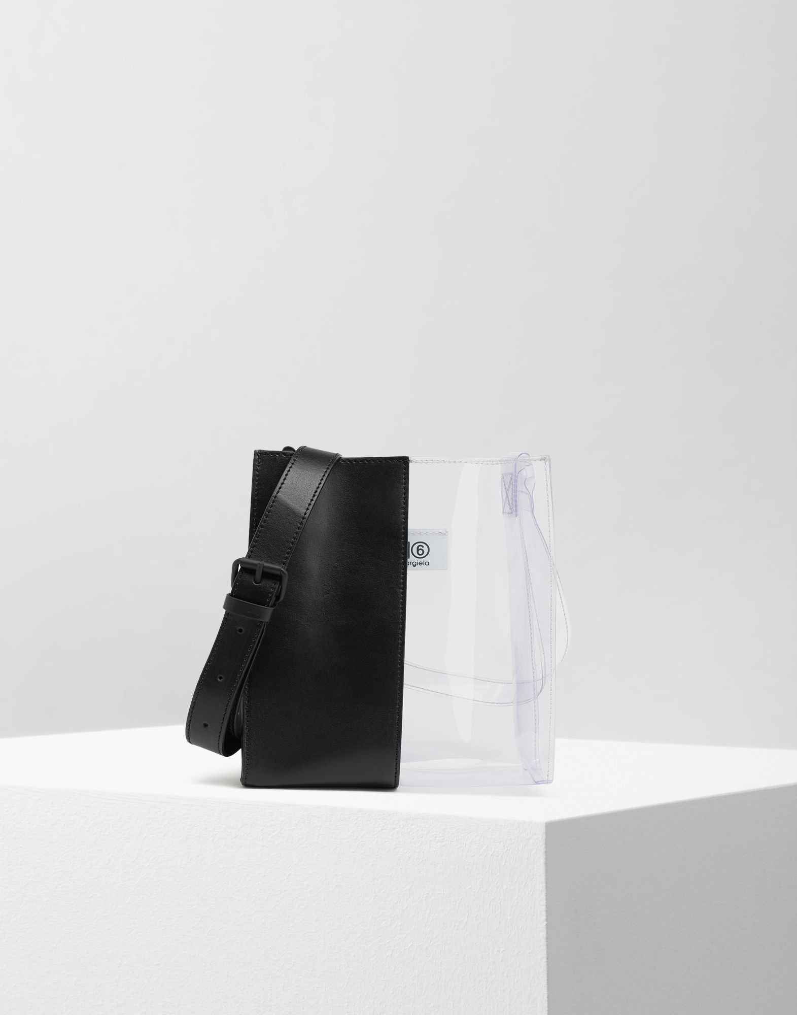MM6 MAISON MARGIELA Half-And-Half mini shopper Shoulder bag Woman f