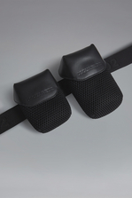 DSQUARED2 Red & Black Punk Bum Bag Belt Man