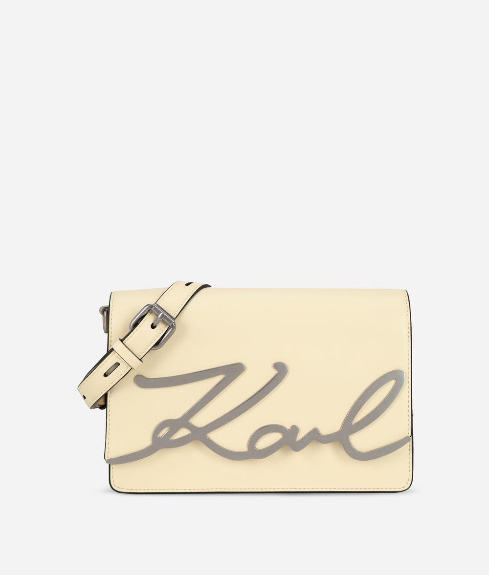 KARL LAGERFELD K/Signature ショルダーバッグ ハンドバッグ レディース f