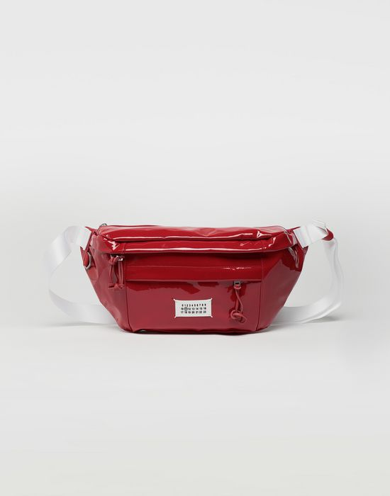 MAISON MARGIELA Medium patent leather bumbag Fanny pack [*** pickupInStoreShippingNotGuaranteed_info ***] f