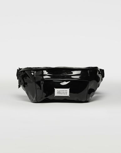 MAISON MARGIELA Bum bag [*** pickupInStoreShippingNotGuaranteed_info ***] Medium patent leather bumbag f