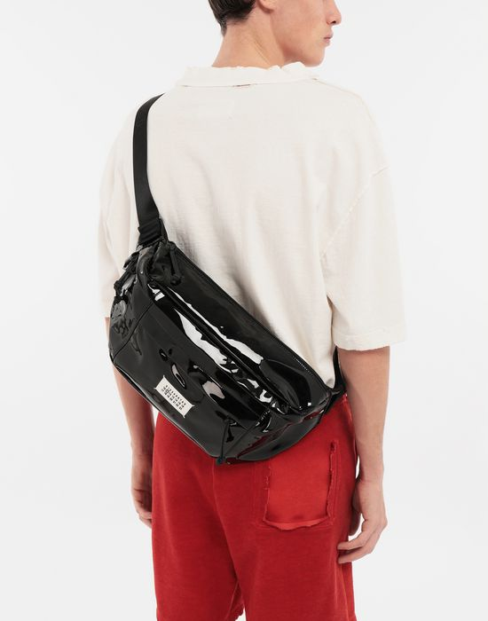 MAISON MARGIELA Medium patent leather bumbag Bum bag [*** pickupInStoreShippingNotGuaranteed_info ***] b