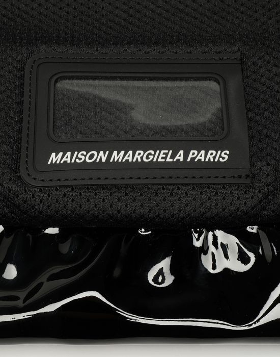 MAISON MARGIELA Medium patent leather bumbag Bum bag [*** pickupInStoreShippingNotGuaranteed_info ***] e