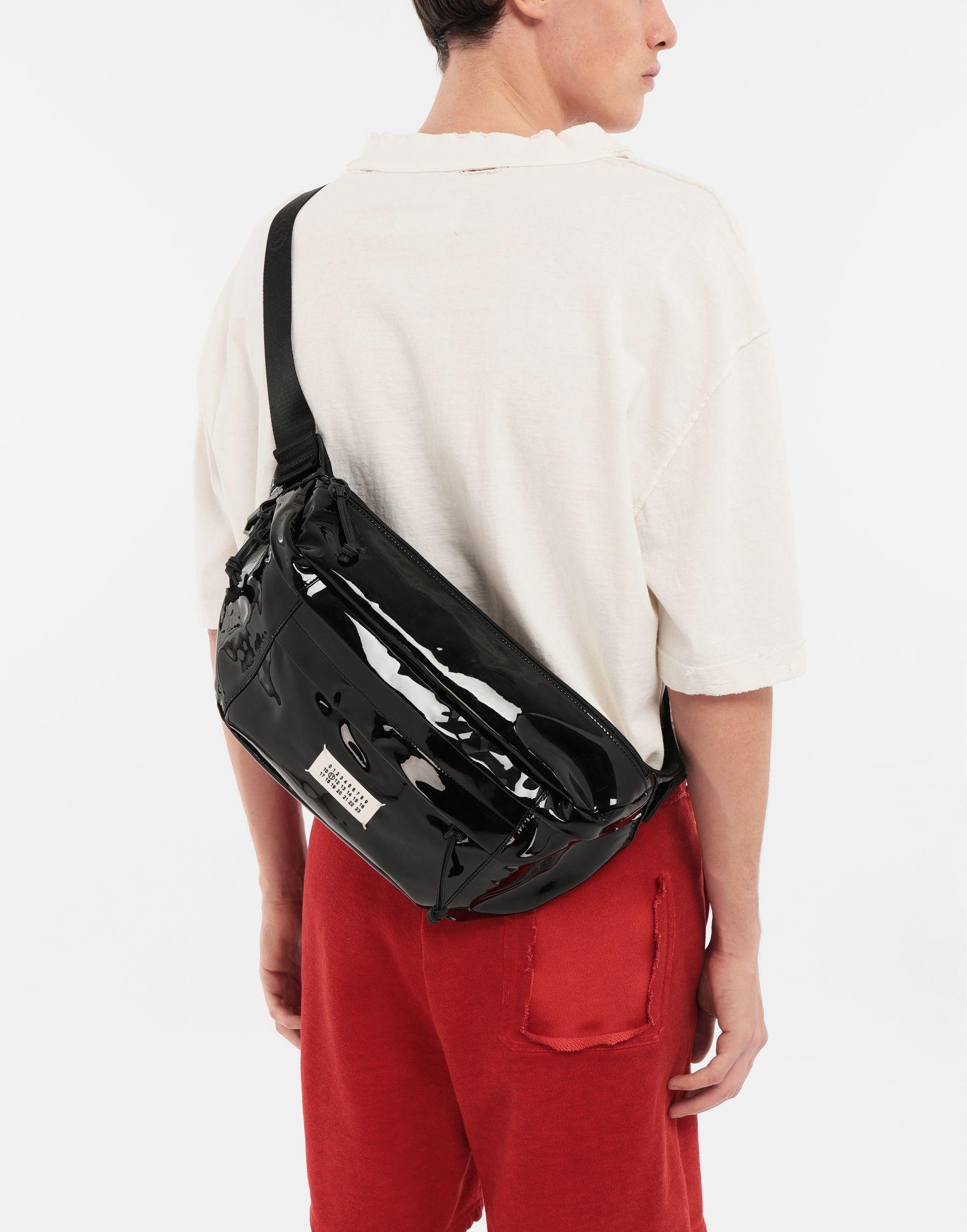 MAISON MARGIELA Medium patent leather bumbag Bum bag Man b