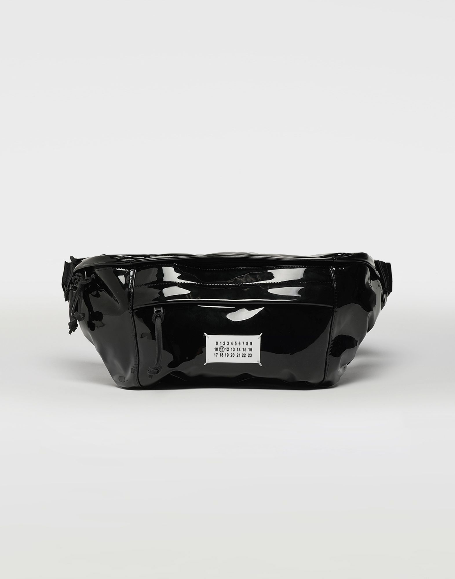 MAISON MARGIELA Medium patent leather bumbag Bum bag Man f