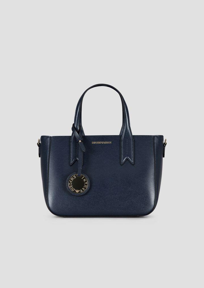 4da3500868 Small hand bag with logoed charm