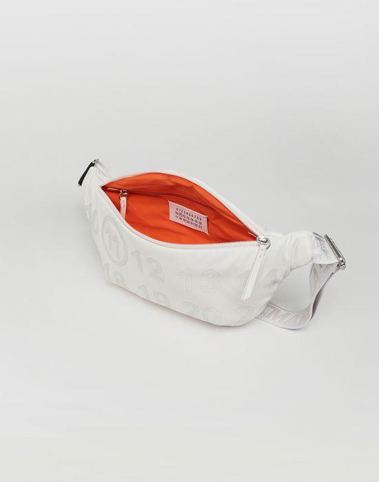 MAISON MARGIELA Logo-embellished leather bumbag Bum bag [*** pickupInStoreShipping_info ***] a