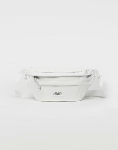 MAISON MARGIELA Medium patent leather bumbag Bum bag Man f