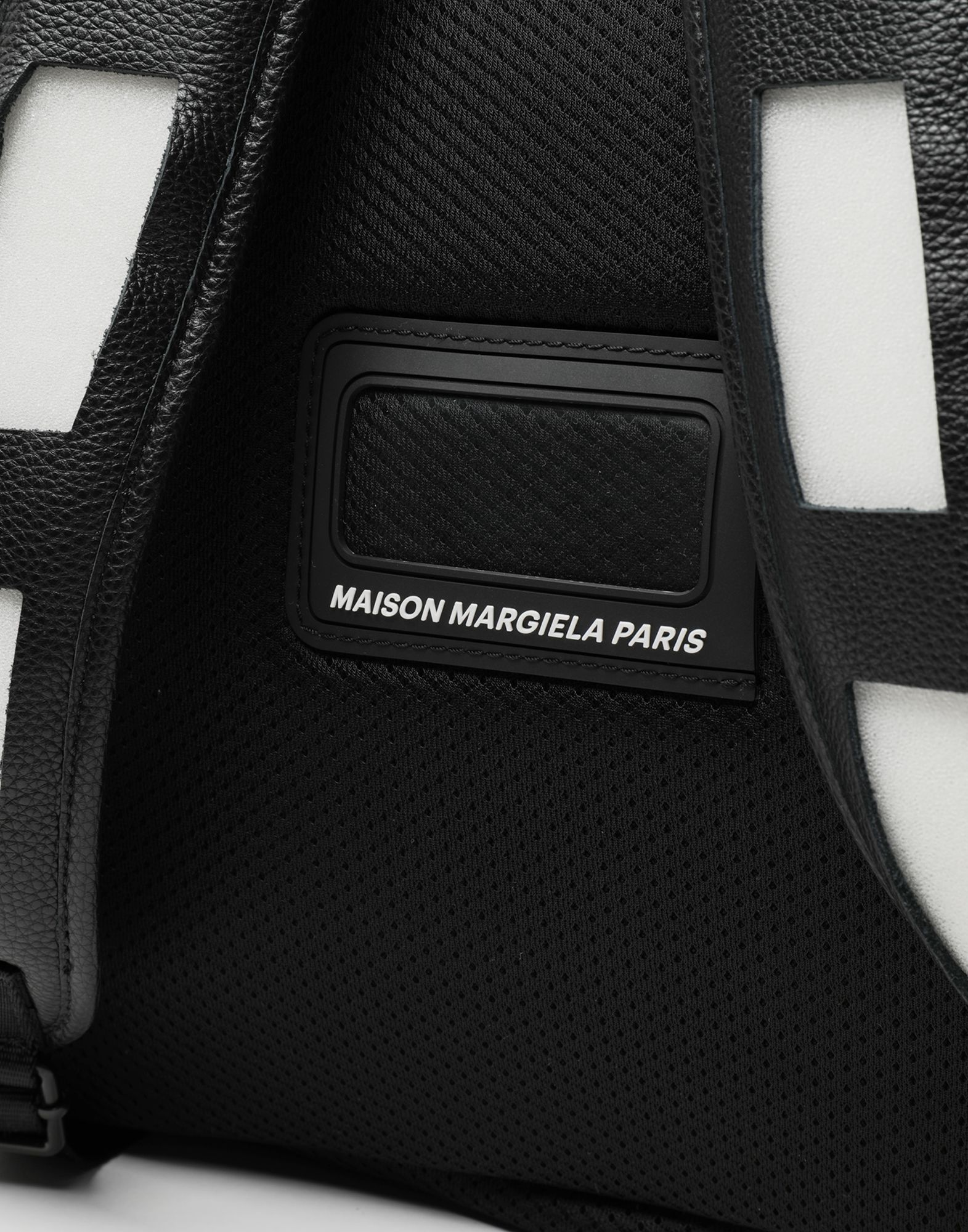 MAISON MARGIELA Décortiqué レザー&PVC バックパック リュックサック メンズ e