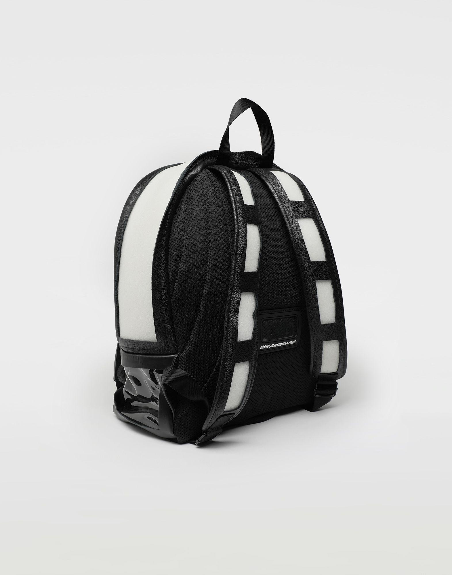 MAISON MARGIELA Décortiqué leather-PVC backpack Rucksack Man r