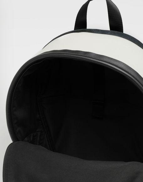 MAISON MARGIELA Décortiqué leather-PVC backpack Rucksack Man a