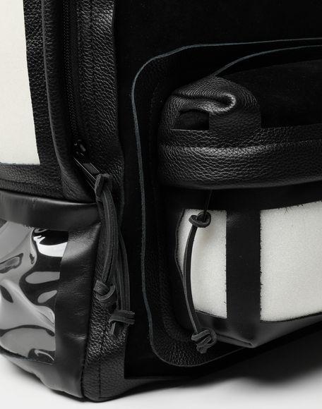 MAISON MARGIELA Décortiqué leather-PVC backpack Rucksack Man d