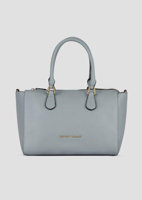 Bang tote bag with mini deer-print and detachable strap