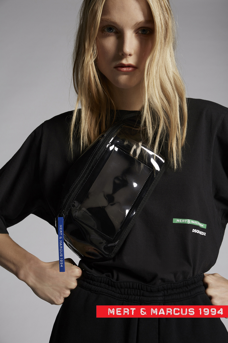 DSQUARED2 Mert & Marcus 1994 x Dsquared2 Belt Bag Fanny pack Man