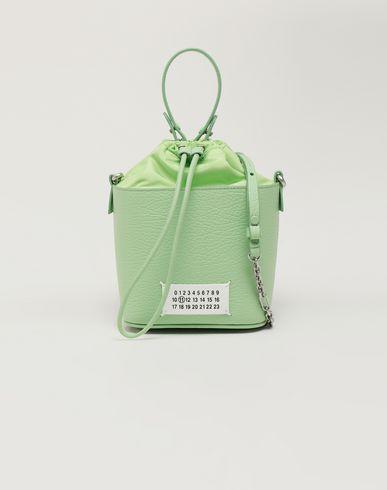 MAISON MARGIELA Shoulder bag [*** pickupInStoreShipping_info ***] Textured leather bucket bag f