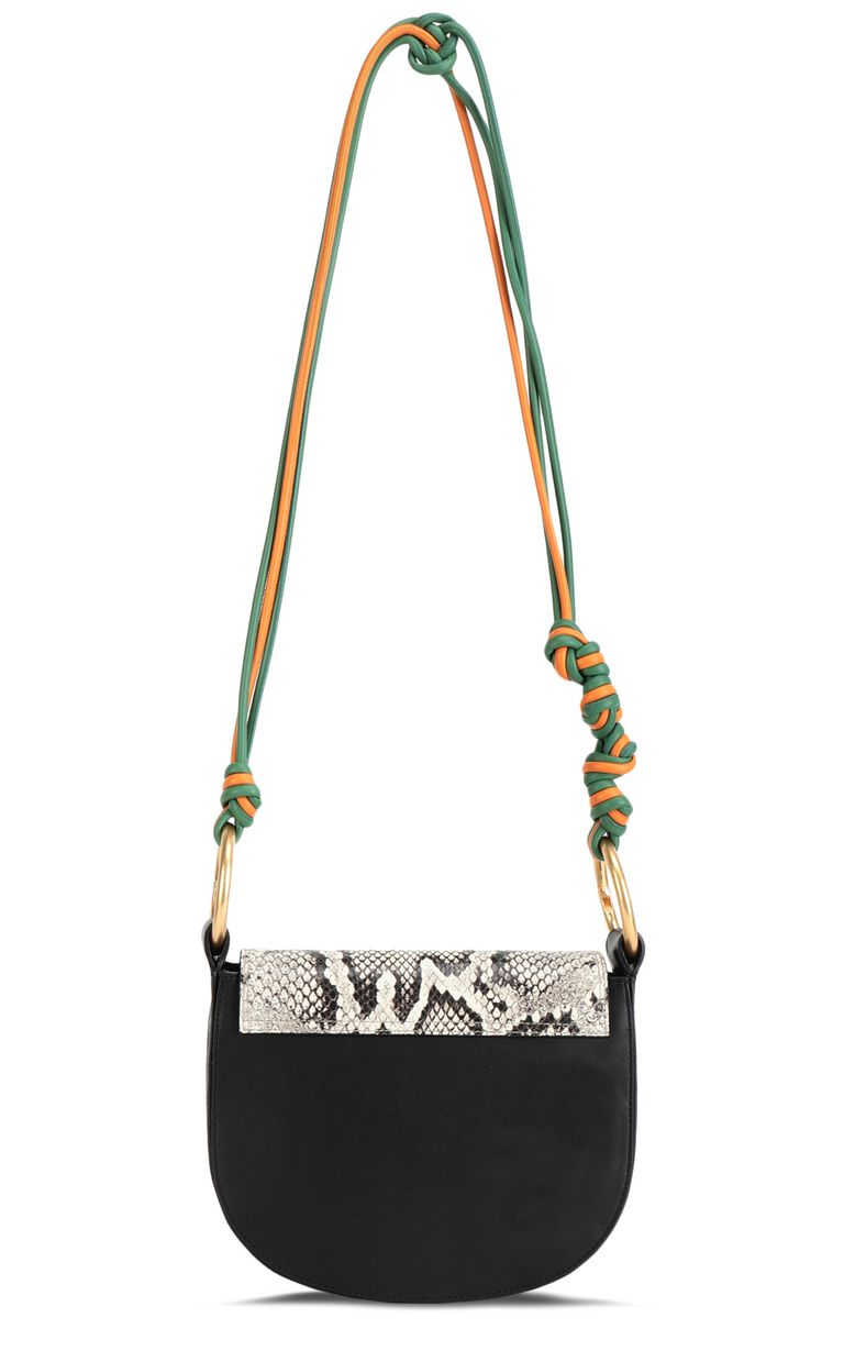 JUST CAVALLI Python-print shoulder bag Crossbody Bag Woman e