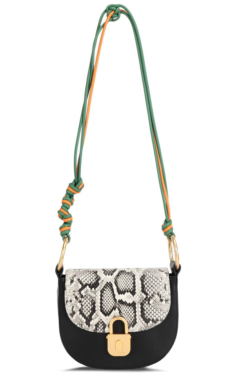 JUST CAVALLI Python-print shoulder bag Crossbody Bag Woman f