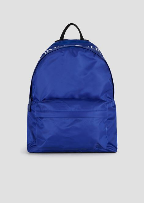 af162aa76 Backpack in nylon tech fabric with maxi logo on the top