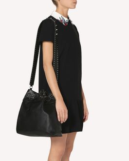 REDValentino ROMANTIC PUNK BUCKET BAG