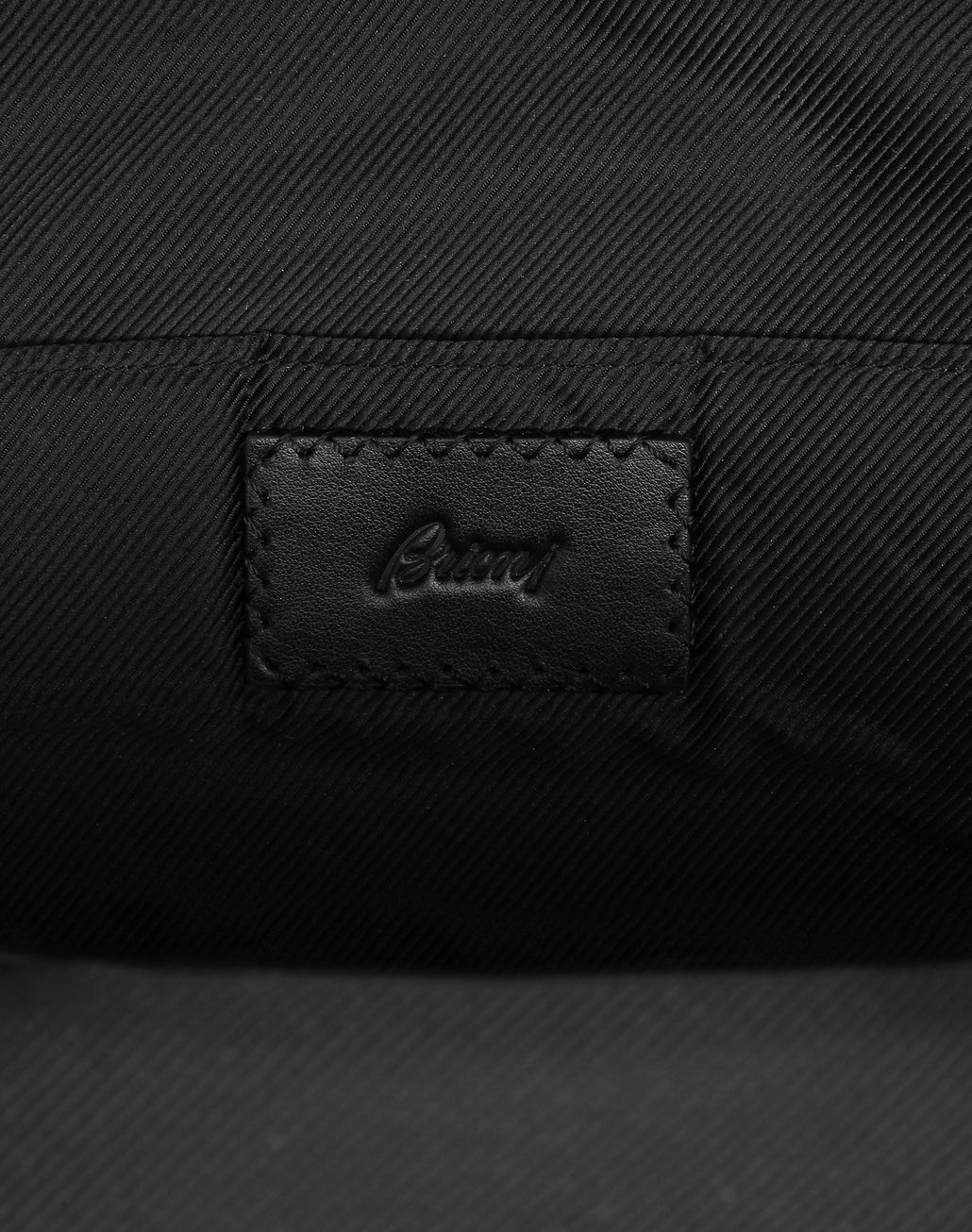 BRIONI Black Backpack Business bag Man a