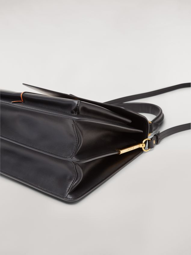 Marni  ATTACHE' bag in black calfskin Woman - 5