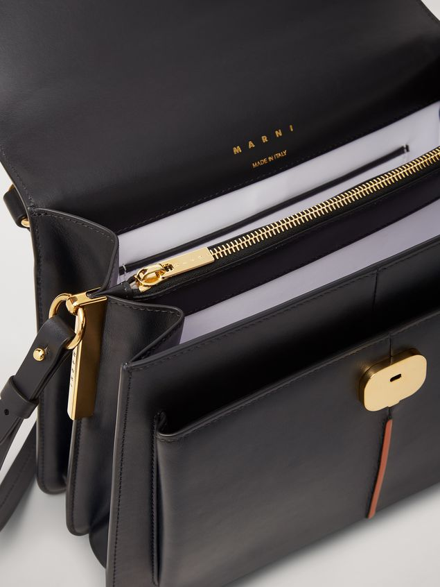Marni  ATTACHE' bag in black calfskin Woman - 2