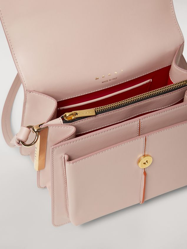 Marni ATTACHE' bag in pink calfskin Woman - 5