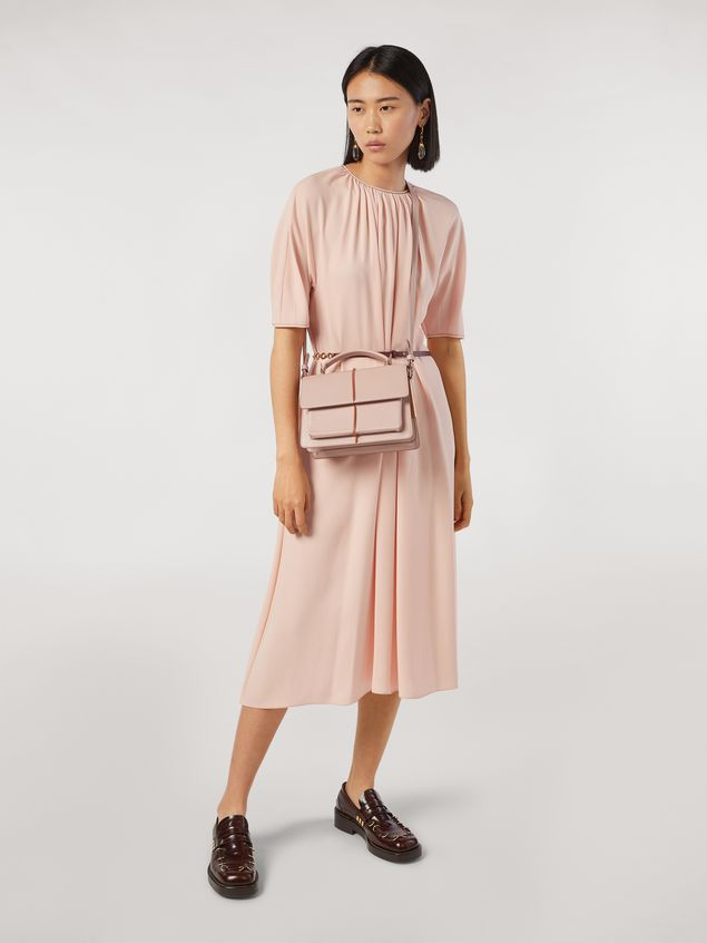 Marni ATTACHE' bag in pink calfskin Woman - 2