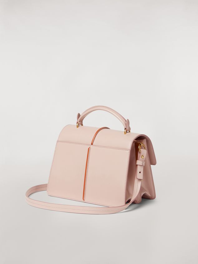 Marni ATTACHE' bag in pink calfskin Woman - 3