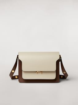 Marni TRUNK bag in three-tone calfskin Woman